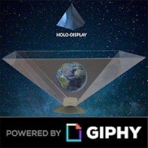 3d hologram - Holo-display