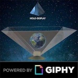 3d hologram logo