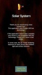 AR Solar System (ARCore)