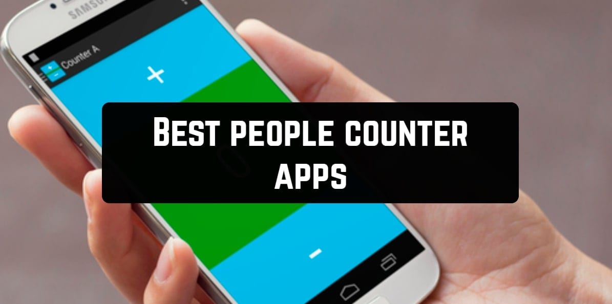 Best people counter apps