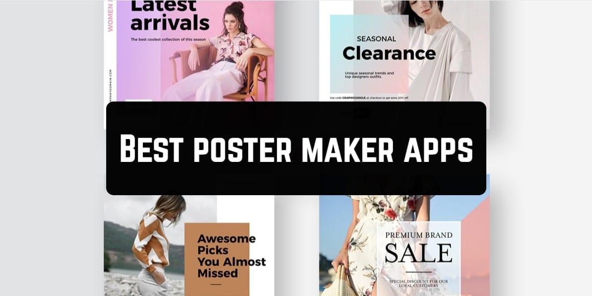 Best poster maker apps