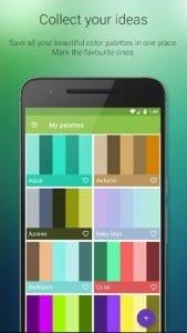 Color Harmony screen