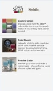 ColorSmart screen
