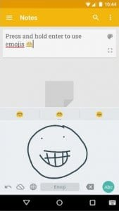 Google Handwriting screen1