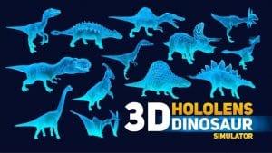 HoloLens Dinosaurs screen1