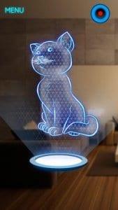 Hologram Kitten 3D Simulator