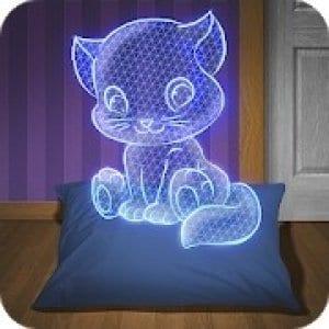 Hologram Kitten logo
