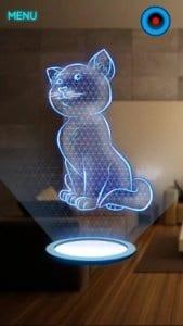 Hologram Kitten screen1