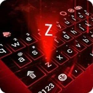 Hologram Neon Keyboard Theme logo