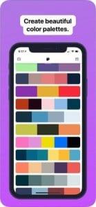 Palette Cam screen