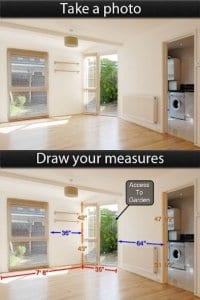 Photo Measures Lite screen