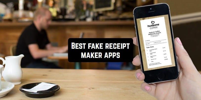 fake receipt maker