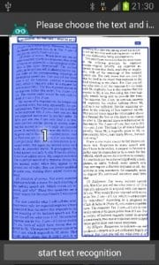 Text Fairy screen