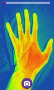 Thermal Camera HD Effect Simulator screen