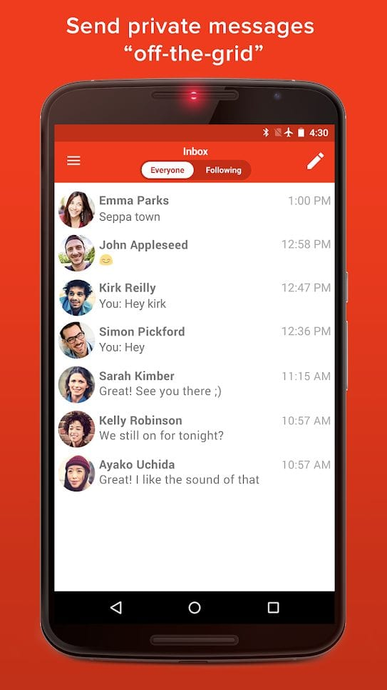 firechat screen2