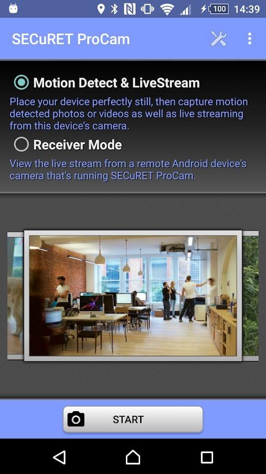 securet procam screen
