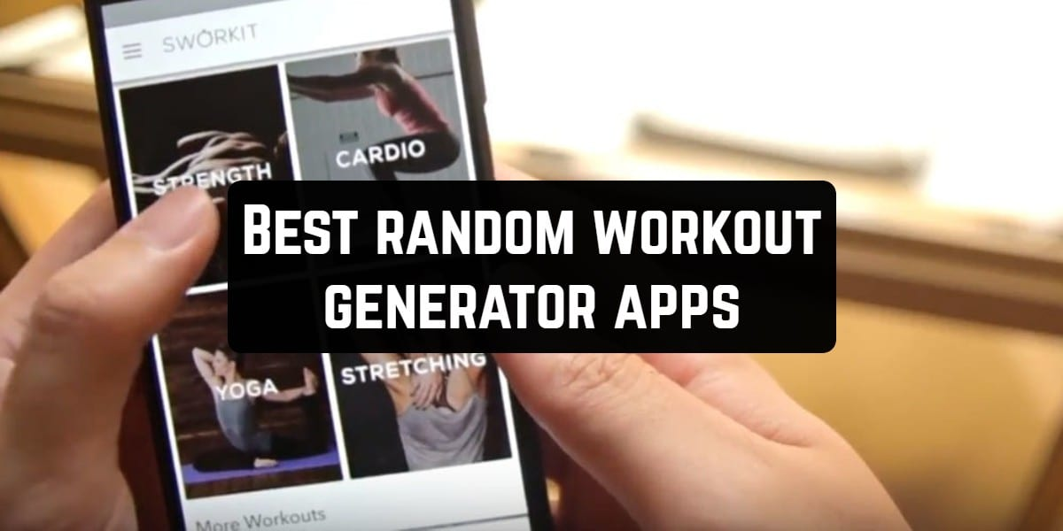 workout generator apps