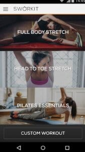 Stretching & Pilates Sworkit - Workouts for Anyone