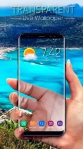 Transparent Screen & Live Wallpaper