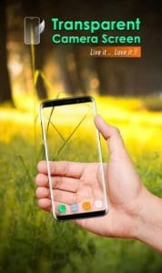 Transparent Camera Screen