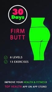 30 Day Firm Butt Challenges