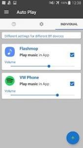 AutoPlay Bluetooth&Headphones