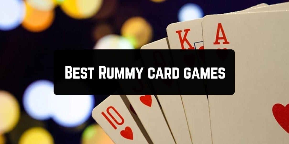 best rummy card games