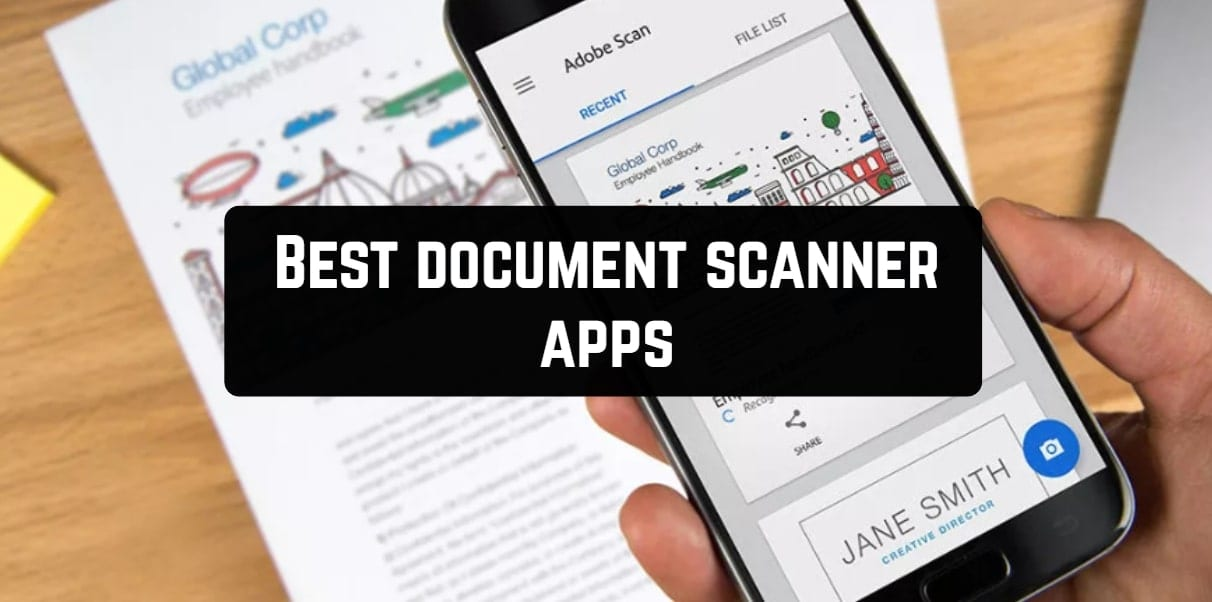 Best document scanner apps