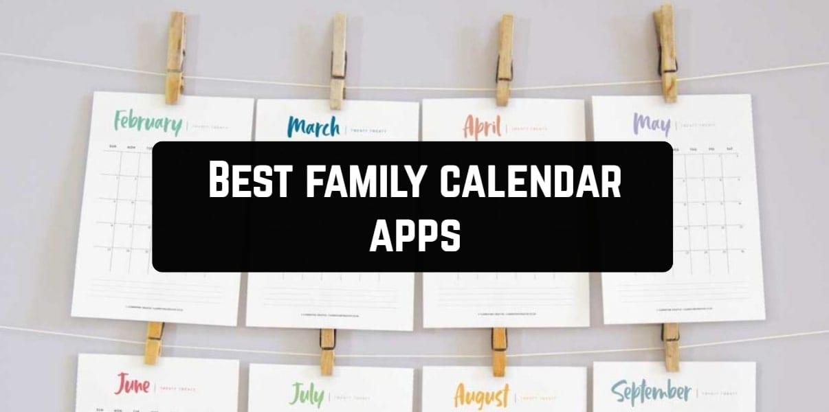 Best family calendar apps