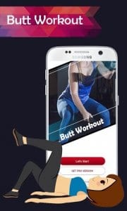 Buttocks Workout-Hips, Legs & Booty Home Workout