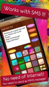 Color SMS - Send Text Messages, Fun for iMessage