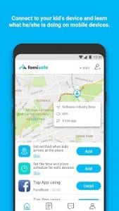 FamiSafe - Parental Control & Location Tracker