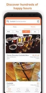 HungryHour - The Happy Hour App