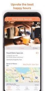 HungryHour - The Happy Hour App