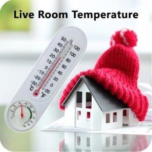 Live Room Temperature