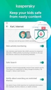 Parental Control & Kids GPS: Kaspersky SafeKids