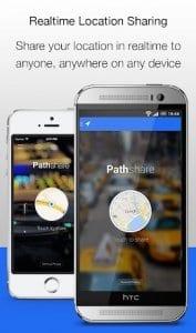 Pathshare GPS Location Sharing