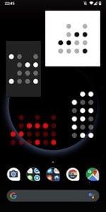 Pretty Binary Clock Widget