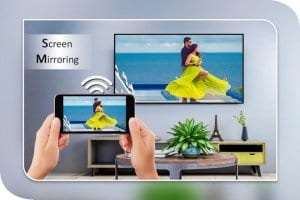 Screen Mirroring with TV: Mobile Screen to TV