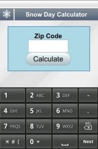 Snow Day Calculator2