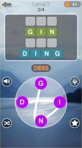 Word Link Game Puzzle - WordCrossy With Friends