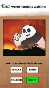 Word Panda Farm