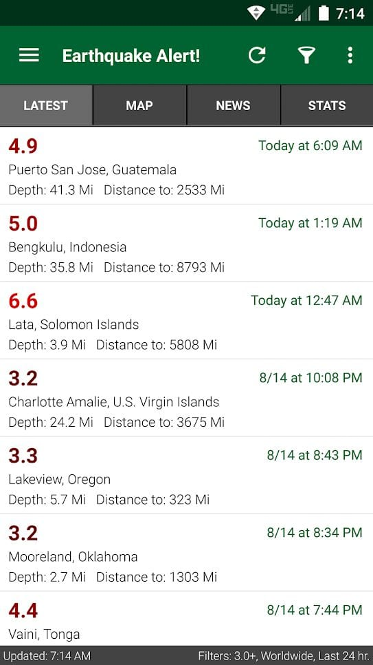 earthquake alert!1