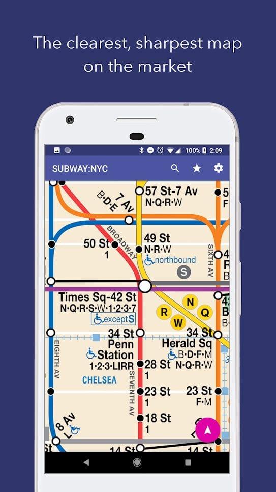 nyc subway map offline1