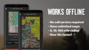 onX Hunt: Hunting Maps, Offline GPS/Nav & Weather