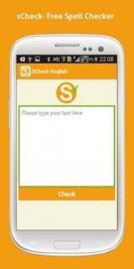 sCheck- Advanced Spell Checker