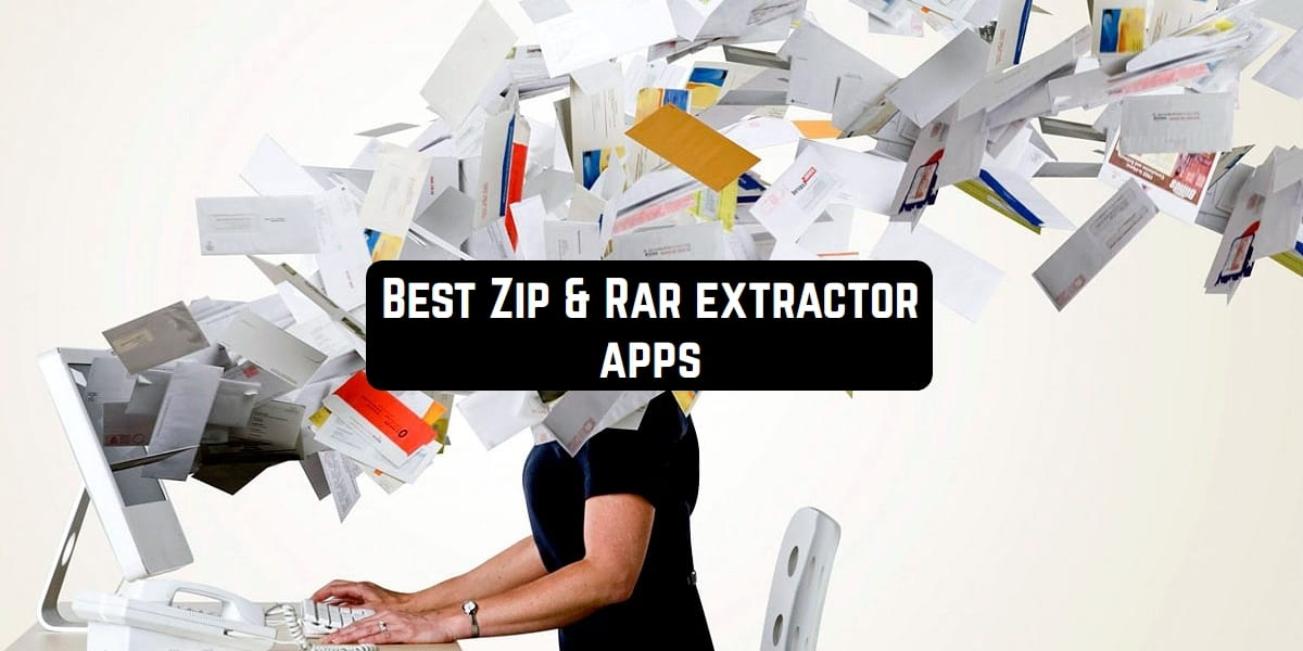 zip and rar extractor apps
