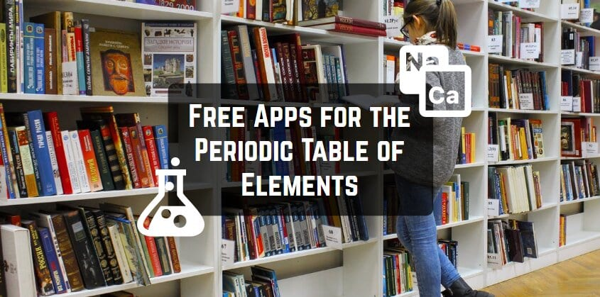 Free Apps for the Periodic Table of Elements