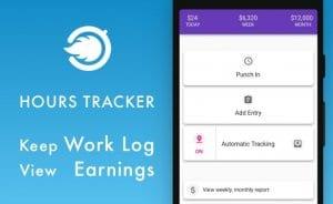 Hours Tracker: Keep work log, work day timesheet
