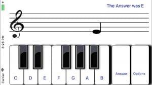 Learn sight read music tutor